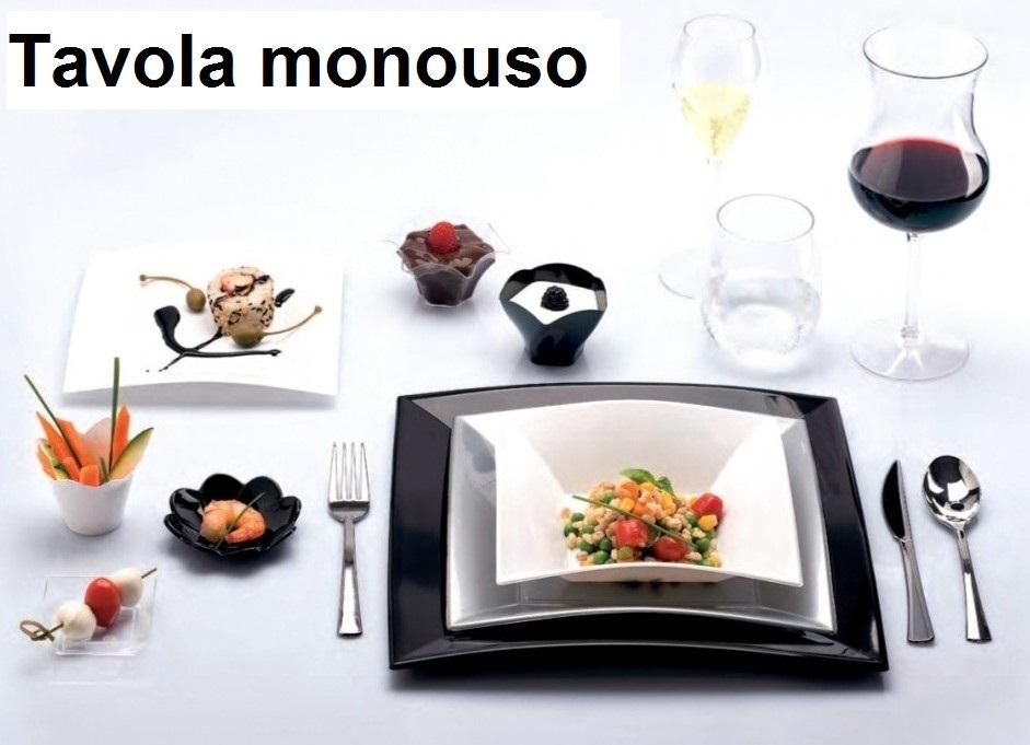 SERIE PIATTI MONOUSO