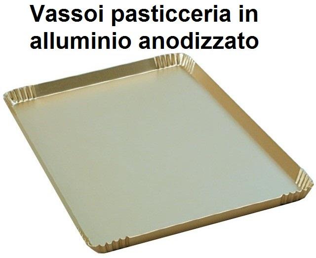 VASSOI PASTICCERIA ALLUMINIO