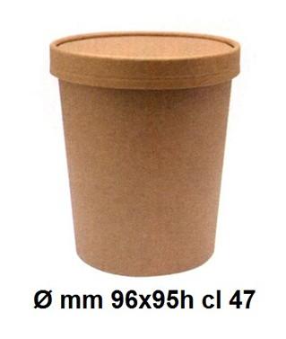 N.25 CONT.ZUPPE C/COP.470ml.|Novalberghiera