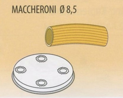 TRAFILA MACCHERONI Ø8,5x2,5-4|Novalberghiera