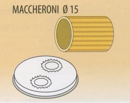 TRAFILA MACCHERONI Ø15x2,5-4 Novalberghiera