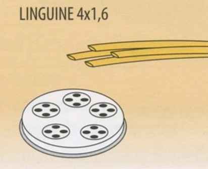 TRAFILA LINGUINE 4x1,6x2,5-4 Novalberghiera