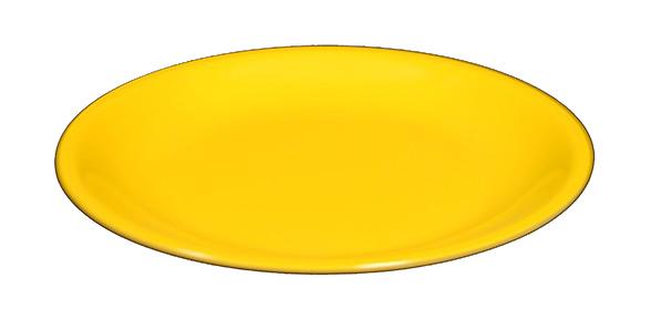 P.FRUTTA MELAMINA giallo cm 20