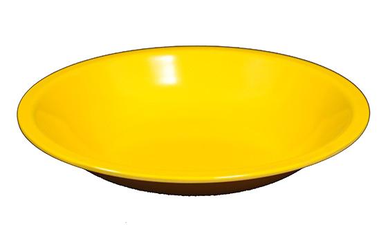 P.FONDO MELAMINA giallo cm 21 | Novalberghiera