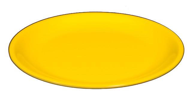 P.PIANO MELAMINA giallo  cm 23