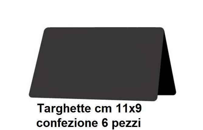 N. 6 TARGHETTE 11x9|Novalberghiera