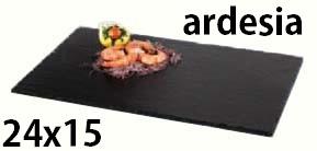 PIATTO ARDESIA cm 24x15|Novalberghiera