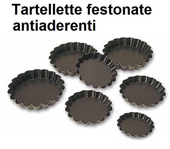TARTELLETTE TONDE FESTONATE