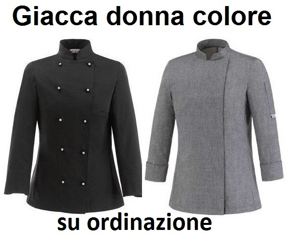 GIACCA CUOCO DONNA SERIE