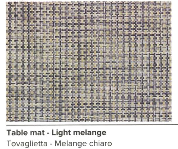 N.6 TOVAGLIETTE 42x30 MELANG