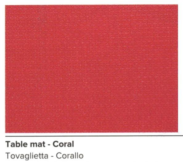 N.6 TOVAGLIETTE 42x30 CORALLO