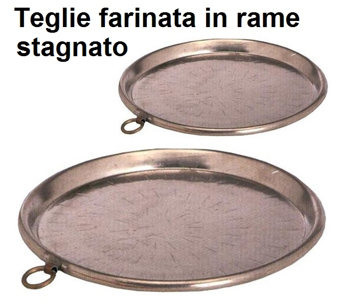 TEGLIE FARINATA RAME|Novalberghiera