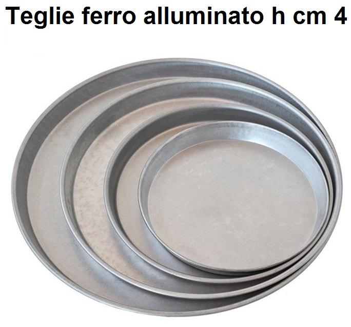 TEGLIA FERRO ALLUMATO h cm 4