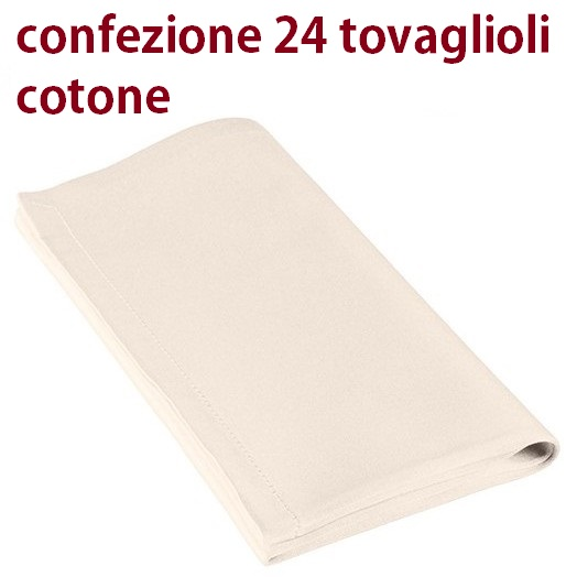 N.24 TOVAGLIOLI 50x50 COT/RASO