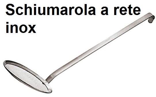 SCHIUMAROLE A RETE INOX | Novalberghiera