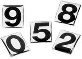 KIT 10 NUMERO  6|Novalberghiera