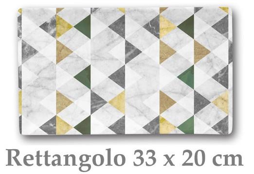 TRIANG PIATTO RETT. cm 33x20|Novalberghiera