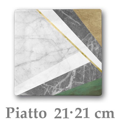 GEOMETRIE P.PIANO  cm 21x21|Novalberghiera