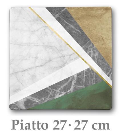 GEOMETRIE P.PIANO  cm 27x27|Novalberghiera