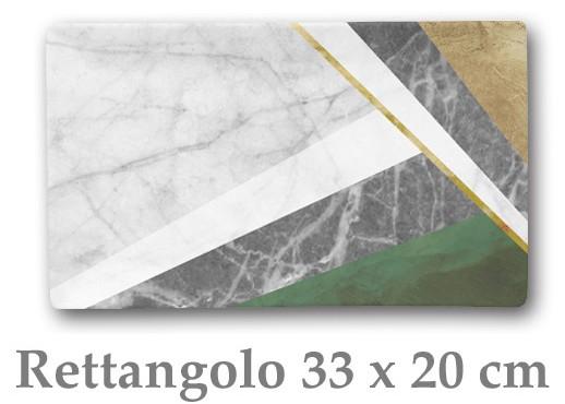 GEOMETRIE PIATTO RETT.cm 33x20|Novalberghiera