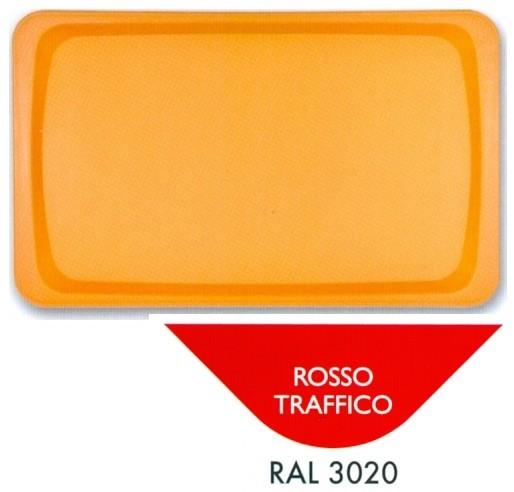 VASSOIO POLIPR.53x32 ROSSO | Novalberghiera