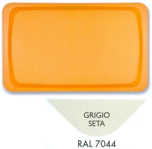 VASSOIO POLIPR.53x32 GRIGIO | Novalberghiera