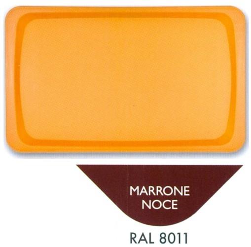 VASSOIO POLIPR.53x32 MARRONE | Novalberghiera