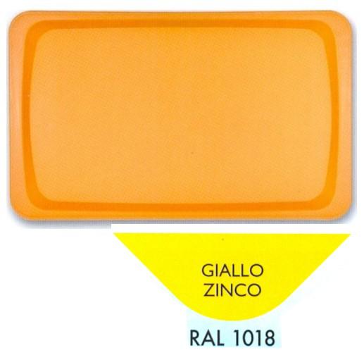 VASSOIO POLIPR.53x32 GIALLO Z. | Novalberghiera