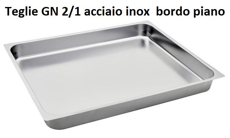 TEGLIA INOX GN 2/1 | Novalberghiera