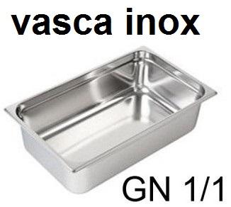 VASCA GN INOX 1/1 | Novalberghiera