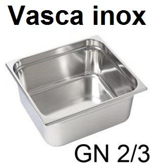 VASCA GN INOX 2/3 | Novalberghiera