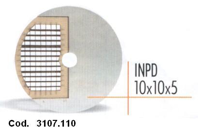 DISCO CUBETTI mm 10x10x5 -INPD   Novalberghiera