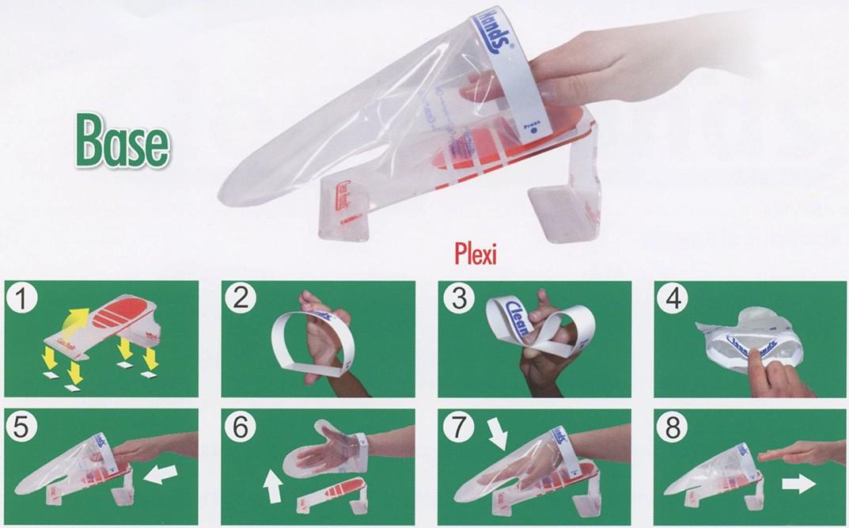 KIT BASE GUANTO clean hands | Novalberghiera