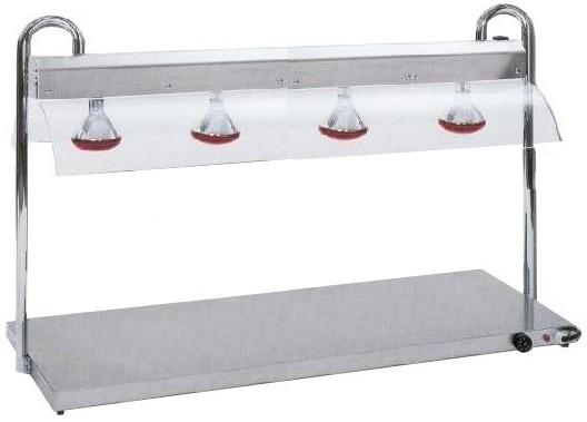 VULCANO INFRA 4/1+4 LAMP.|Novalberghiera