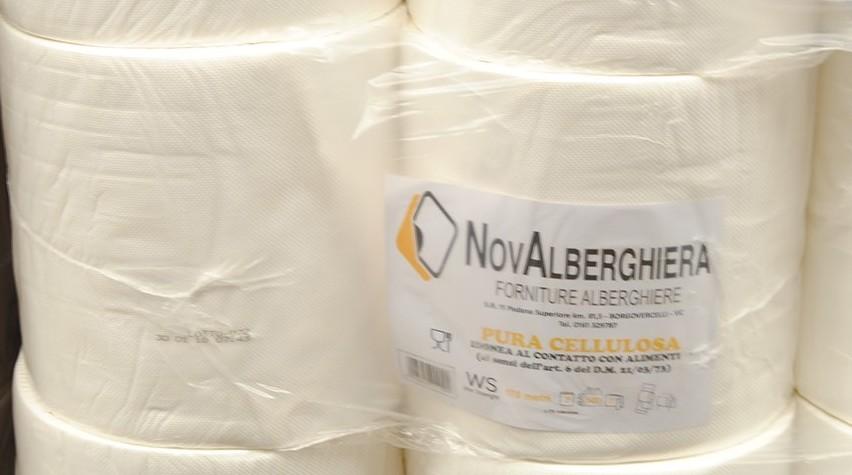 N.2 BOBINE CARTA PURA/CEL (60) | Novalberghiera