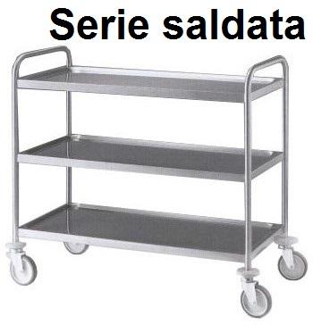 CARR.INOX 3P/saldati 89x59x96h | Novalberghiera