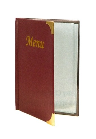 MENU BASIC BORDEAUX A5