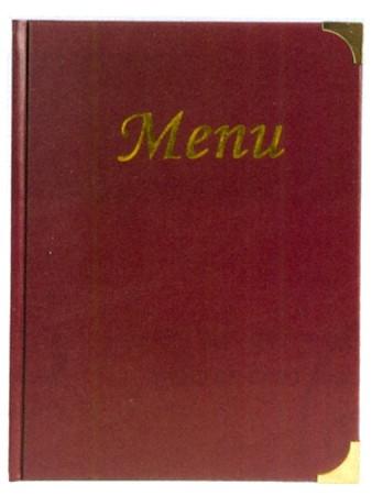 MENU BASIC BORDEAUX A4 | Novalberghiera