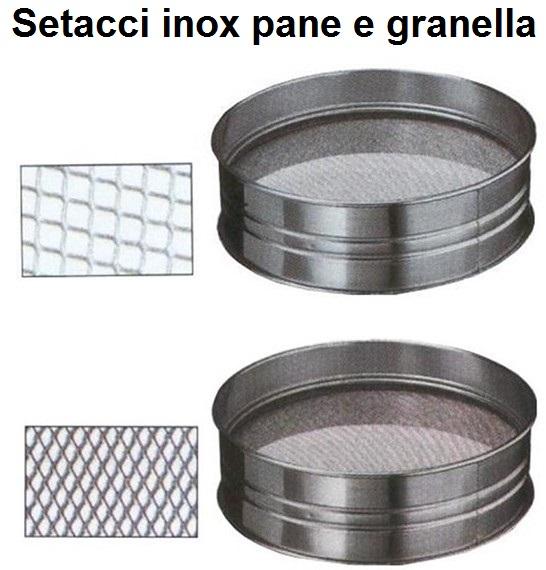 SETAC.INOX GRANELLA-PANE | Novalberghiera