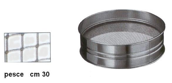 SETACCIO INOX PESCE cm30|Novalberghiera
