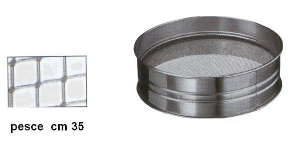 SETACCIO INOX PESCE cm35|Novalberghiera