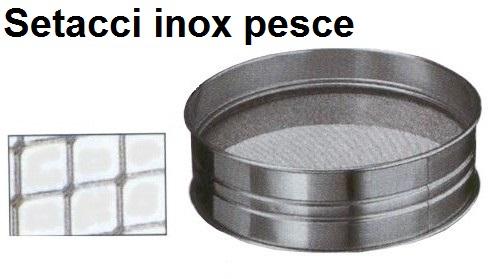 SETACCIO INOX PESCE | Novalberghiera