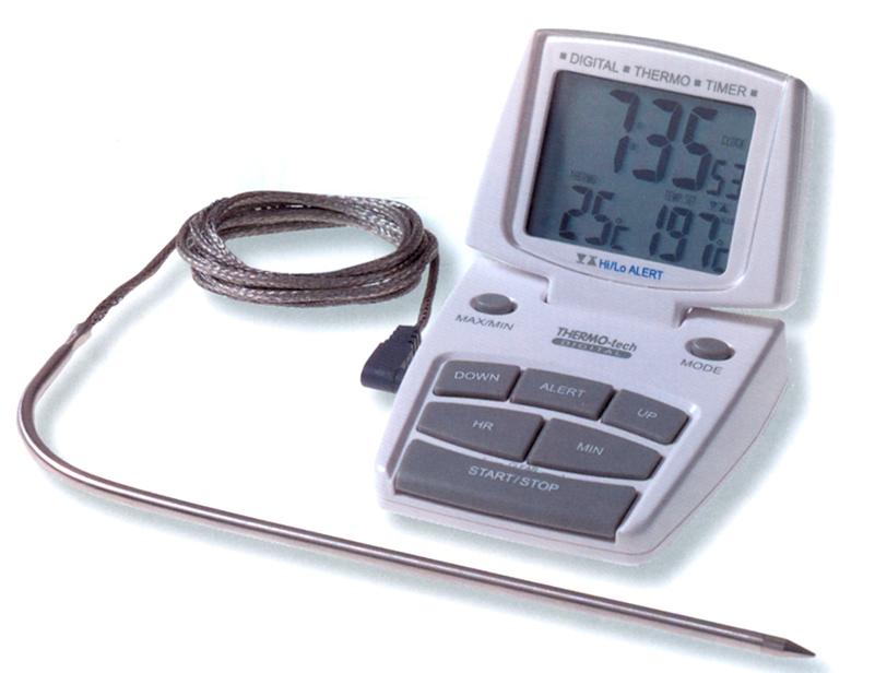 TERMOMTRO FORNO-10+200°C | Novalberghiera