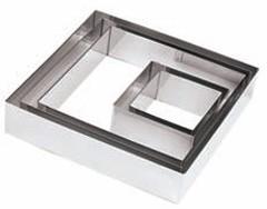 QUADRO  INOX cm 10x10|Novalberghiera