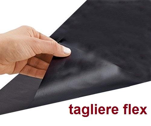 TAGLIERE FLEX NERO 45x30 | Novalberghiera