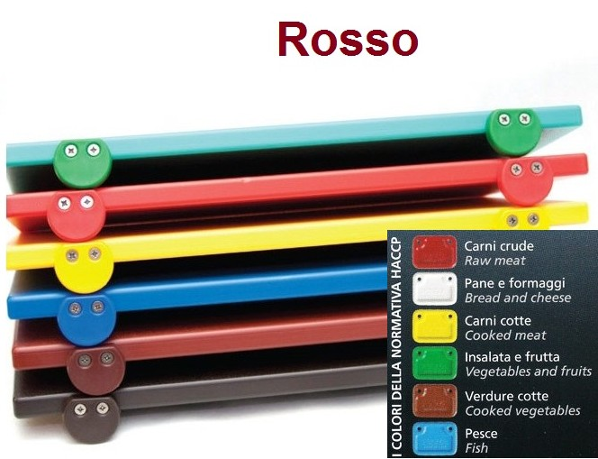 TAGLIERE ROSSO 60x40x2 c.f.|Novalberghiera
