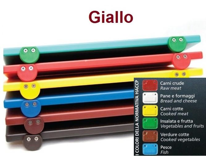 TAGLIERE GIALLO 60x40x2 c.f. Novalberghiera