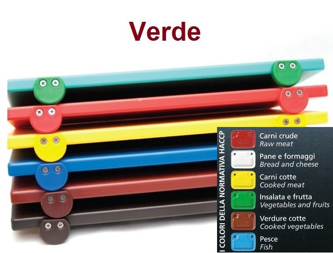 TAGLIERE VERDE 60x40x2 c.f. Novalberghiera
