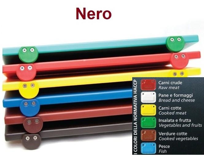 TAGLIERE NERO 60x40x2 c.f.|Novalberghiera