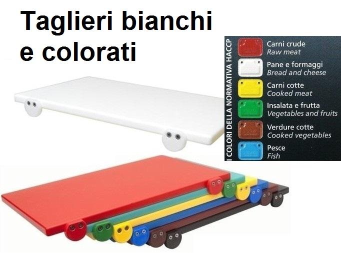 TAGLIERE BIANCHI E COLORE | Novalberghiera